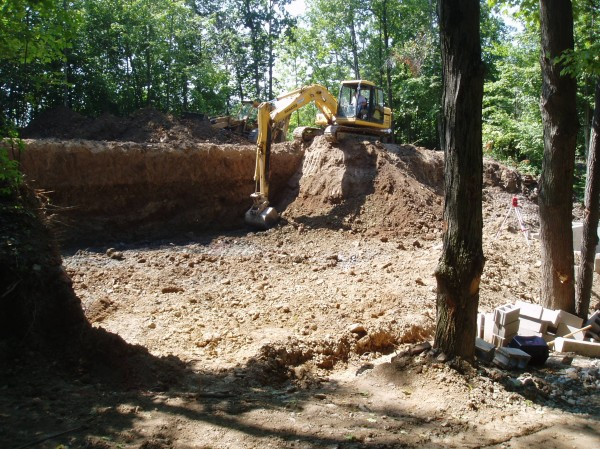 Excavating- 2005