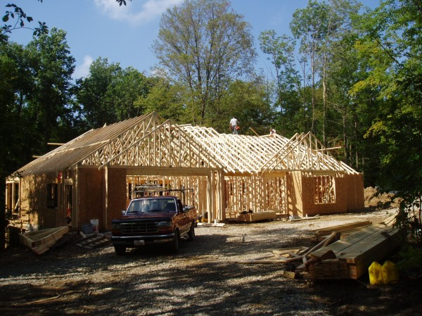Finishing trusses