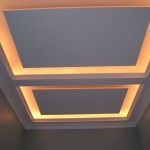 Master bath  3 panel cove lighting