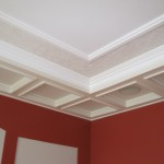 Study coffered ceiling