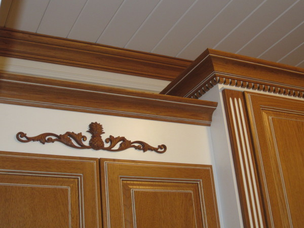 Laundry room trim