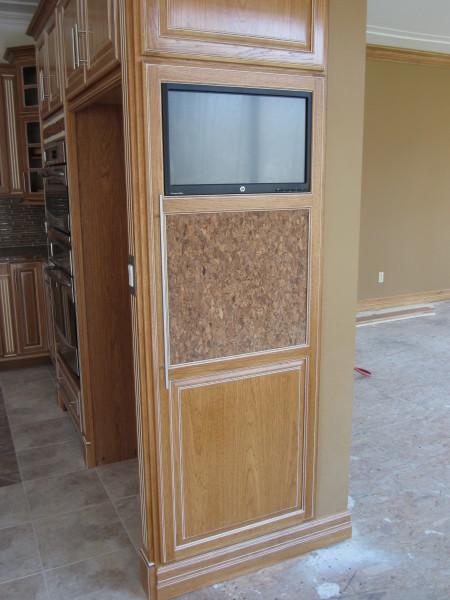Ref end panel door