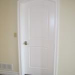 Arched top doors