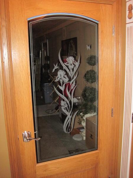 Pantry to garage door