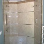Tiled mstr shower