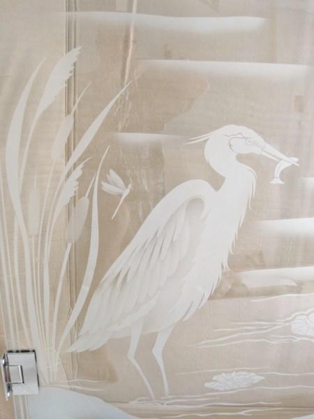 Mstr shower etching