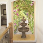 Fountain Rose Arbor